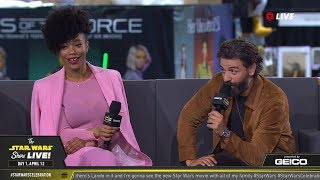 Oscar Isaac & Naomi Ackie Take The Stage At SWCC 2019 | The Star Wars Show Live!