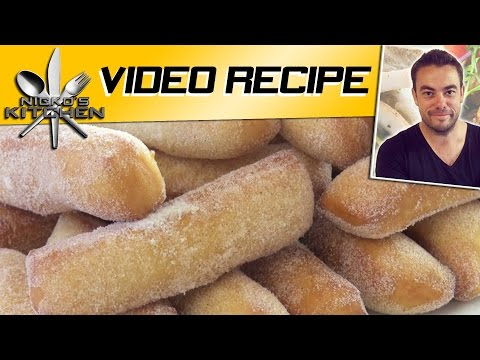 DONUT 'FRIES' - Nicko's Kitchen