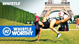 Top 15 MUST-SEE Women's Soccer Freestyle Tricks
