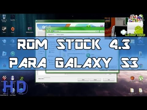 INSTALAR ROM STOCK 4.3 DE SAMSUNG PARA GALAXY S3 I9300