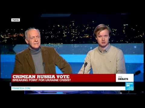 Crimean Russia vote: Breaking point for the Ukraine crisis? - #F24Debate