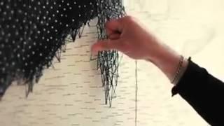 Phục sát đất với tài vẽ chân dung nghệ thuật bằng đinh và dây