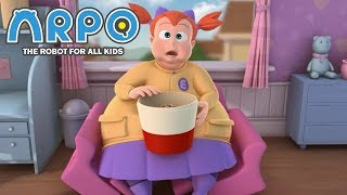 ARPO The Robot For All Kids - Big Girl Breaks Sofa | Compilation | Cartoon for Kids
