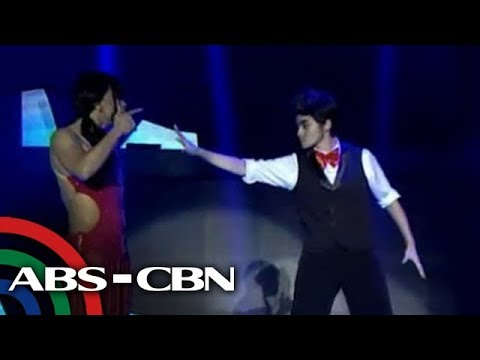 Anne as boy, Jhong as girl on 'It's Showtime'