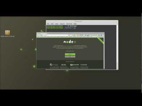 Install Node.js On Ubuntu (arabic) video