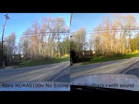 Sony Action Cam HDR-AS100V vs GoPro Hero 3 Black+ comparison review