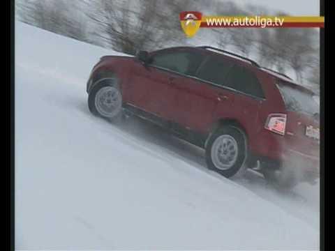 Ford Edge test-drive www.autoliga.tv