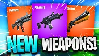 """the """"NEW WEAPONS"""" coming to Fortnite: Battle Royale"""