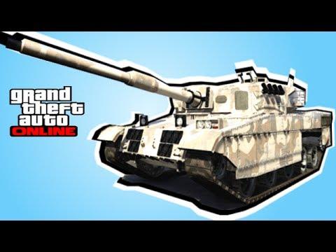 GTA online Как легко получить танк