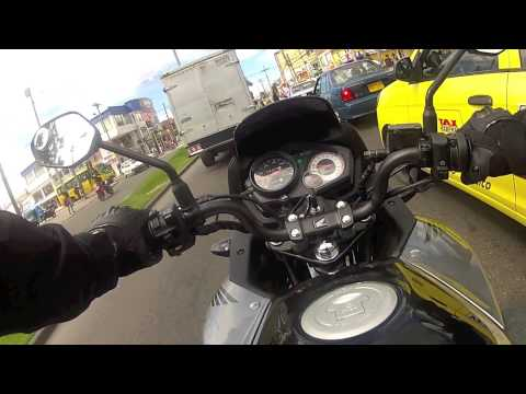 Moto Honda CBF 125, Hero GoPro 2, Bogot