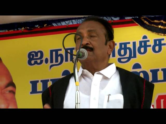Vaiko urges  Modi government to allow UN panel to hold probe in India - Vaiko