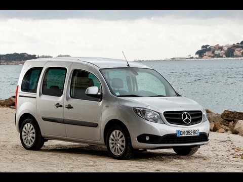 mercedes citan combi 109 cdi essai youtube. Black Bedroom Furniture Sets. Home Design Ideas