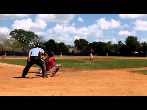 Davis Fouts - Pitching Coral Springs Christian Academy Part 8 of 15