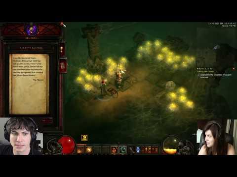 Playmate Plays Diablo 3: YOU KILLED ME!! (Part 11)