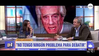 """Larrañaga afirma que """"Sartori no va a ganar la interna ni va a entrar segundo"""""""