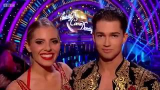 Mollie King & AJ Pritchard - Strictly Come Dancing - 11th November 2017