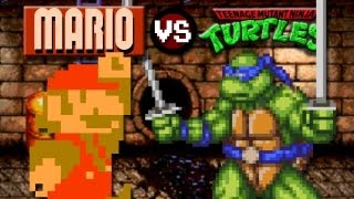 Mario VS. Ninja Turtles: Vengeance