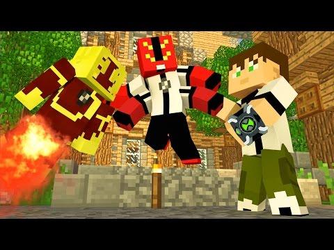 Minecraft A VILA DO BEN 10 70 Meu Amável Mundo