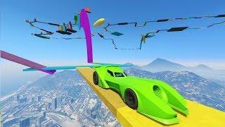 SUPER PARKOUR! 100% IMPOSIBLE!! - CARRERA GTA V ONLINE - GTA 5 ONLINE