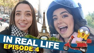 IN REAL LIFE 4 - Paris Fashion Week & Nessa Runs Away with a French Guy! - Merrell Twins