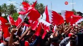 التيار الصدري يتظاهر امام السفارة البحرينية في بغداد - نشرة اخبار السومرية الظهيرة ٢٤ ايار ٢٠١٧
