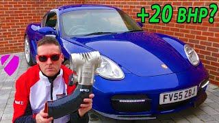 IPD Plenum & GT3 Throttle Body Install - Porsche Cayman/Boxster 987 review vlog 😍