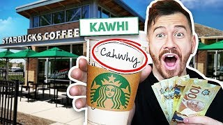 Paying Starbucks Employees $1000 If They Spell My Name Right!!