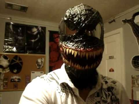 spiderman 3 venom mask. Spiderman-3 Venom Replica mask