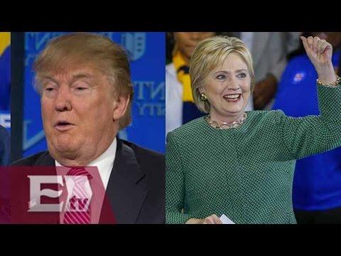 Encuesta revela que Clinton podri?a vencer a Trump en elecciones presidenciales / Kimberly Armengol
