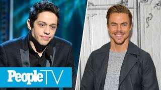 Download Lagu Pete Davidson's Ex Reacts To Engagement News, Derek Hough On His First Solo Tour | PeopleTV Gratis STAFABAND