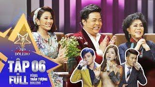 Thần Tượng Bolero 2019 |Tập 6 Full: Học trò Quang Lê -Tố My hóa thân thành Cẩm Ly, Lệ Quyên cực ngọt