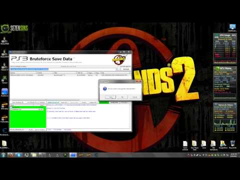 Borderlands 2 - How to Decrypt and Encrypt a PS3 Save