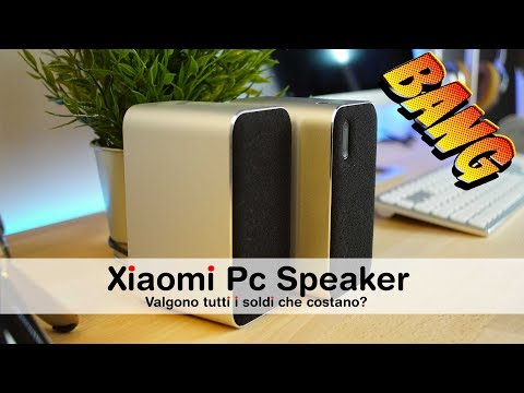 Xiaomi Speaker Bluetooth: MUSICA BUONA per il vostro COMPUTER