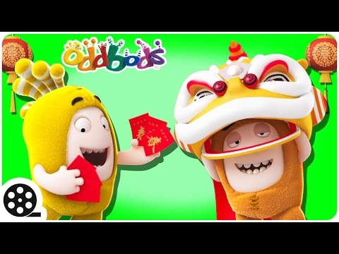 Cartoon | Oddbods Visit To China | Mini Cartoon Movie | Funny Cartoons For Children
