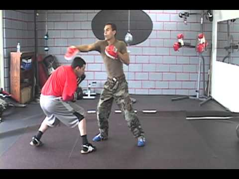 Boxing Training 101 For Southpaws, Offensive-Defense - Countering Right Hook & Left Cross Image 1