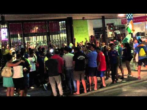 Party all Night after india Pakistan match at adelaide cricket World Cup 2015
