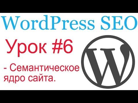 WordPress SEO #6. Семантическое ядро