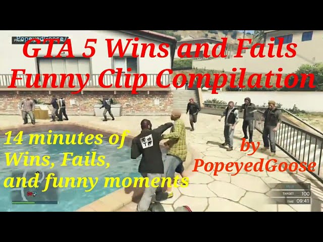 GTA 5 Wins and Fails Funny Video Compilation