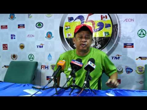 Malaysia Press Conference post australia game