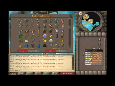Runescape 07 RS looting 500 implings