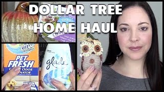 Dollar Tree Home Haul 2015 | Fall Decor, Kitchen & Cleaning Finds!
