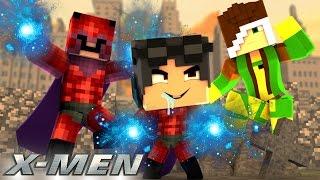 Minecraft: WHO'S YOUR FAMILY? - O BEBÊ REVOLTADO DO MAGNETO E DA VAMPIRA!  ( X-Men )