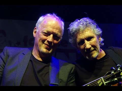 DAVID GILMOUR ▲ ROGER WATERS  Comfortably Numb