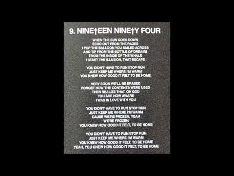 Crosses - Nineteen Ninety Four