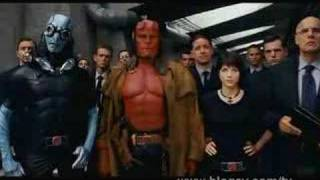NEW (HD) Hellboy II The Golden Army Trailer Movie - 2 Two