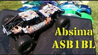 RC Absima ASB1BL 1:10 Sand Buggy brushless 4WD - Testfahrt Skaterrampe - test drive on skate ramp