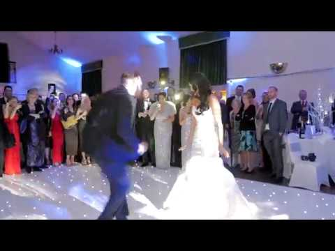 Wedding Wobble surprise First Dance, Abbey Weddings