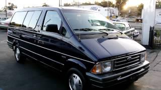 1996 Ford Aerostar XLT 4x4 MiniVan Astro Mini Van Kombi 2 Owner 42K Mile