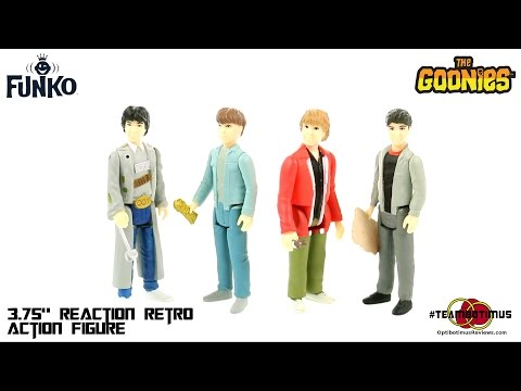 Video Review of the Funko ReAction Retro Figures:  The Goonies