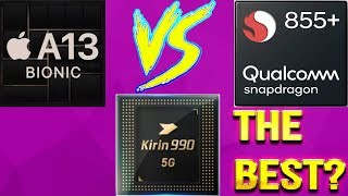 APPLE A13 Vs KIRIN 990 Vs Snapdragon 855 Plus | Battle Of The Best | Guess The Winner!!! [Eng Sub]]
